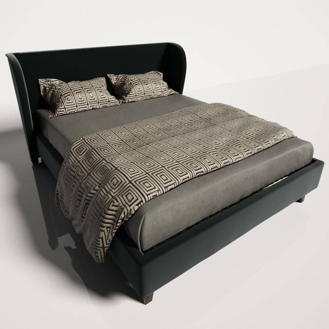 Bed green